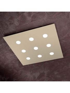 Modern ceiling light 9 lights tpl design 1127-pl9 sand