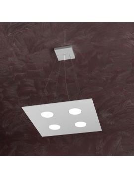 Modern chandelier 4 lights tpl design 1127-s4 gray