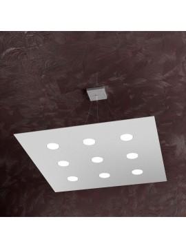 Modern chandelier 9 lights tpl design 1127-s9 gray