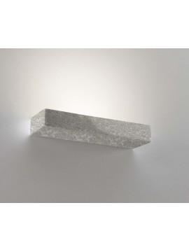 Applique in ceramica pietra grigia a 1 luce coll. 8430.381