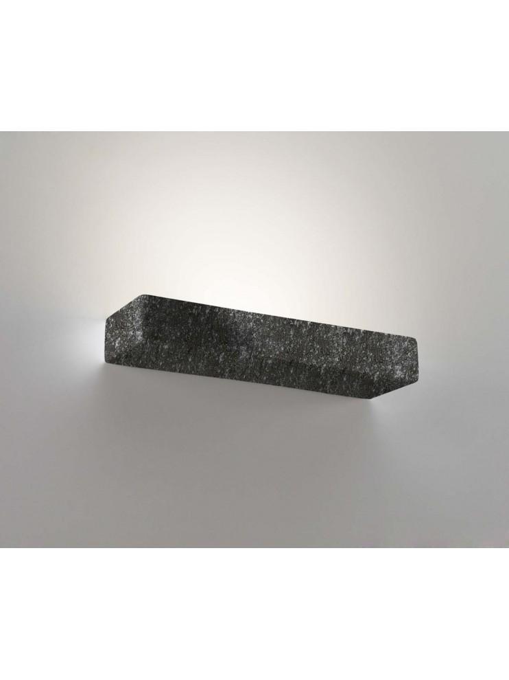 1 light black ceramic stone wall light coll. 8430.382