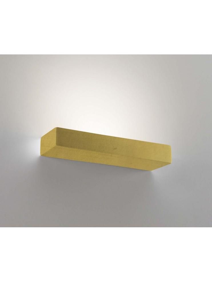 Applique in ceramica foglia oro a 1 luce coll. 8430.670
