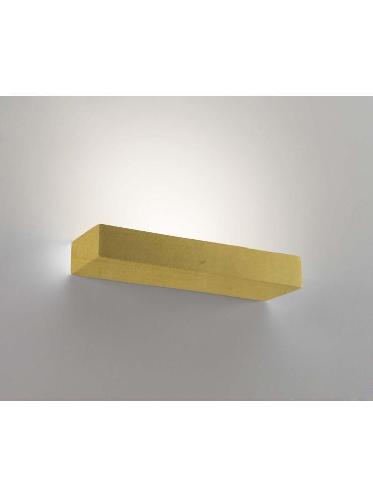 Applique in ceramica foglia oro a 2 luci coll. 8431.670