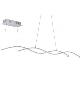 28w modern LED chandelier chrome design GLO 96104 Lasana 2