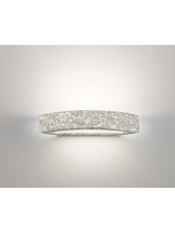 Applique in ceramica pietra grigia a 1 luce coll. 2293.381