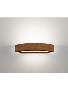 Ceramic wall light corten 1 light coll. 2293.390