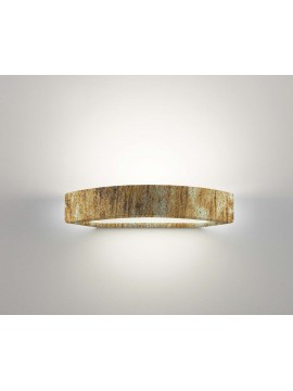 Applique in ceramica ossido a 1 luce coll.belfiore 2293.391