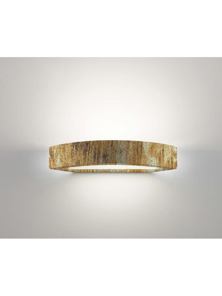 1 light oxide ceramic wall light coll.belfiore 2293.391