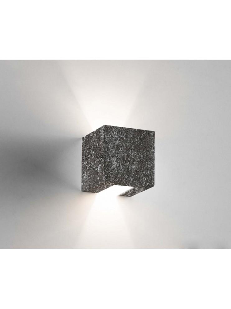 1 light black ceramic stone wall light coll. 2336.382