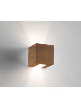 1 light corten ceramic modern wall light coll. 2336.390