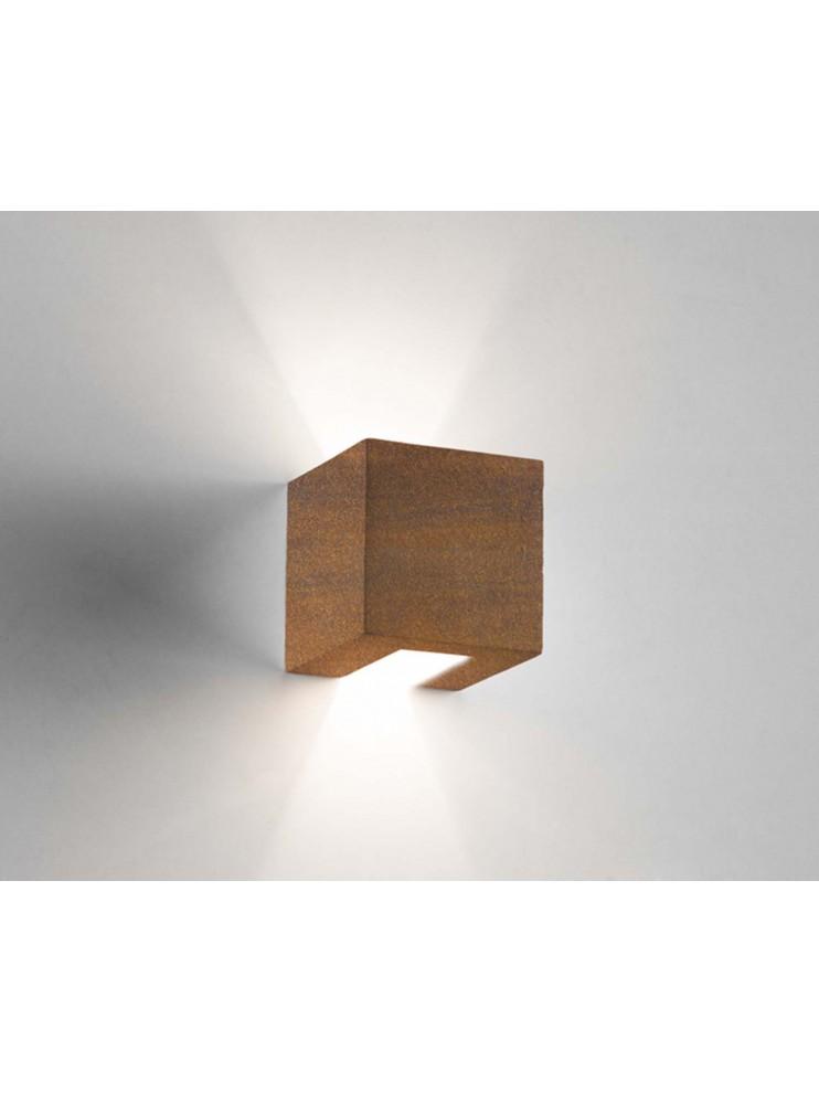 Applique moderno ceramica corten a 1 luce coll. 2336.390