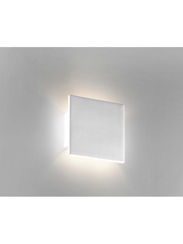 Applique moderno in ceramica bianco a 1 luce coll. 8672.108