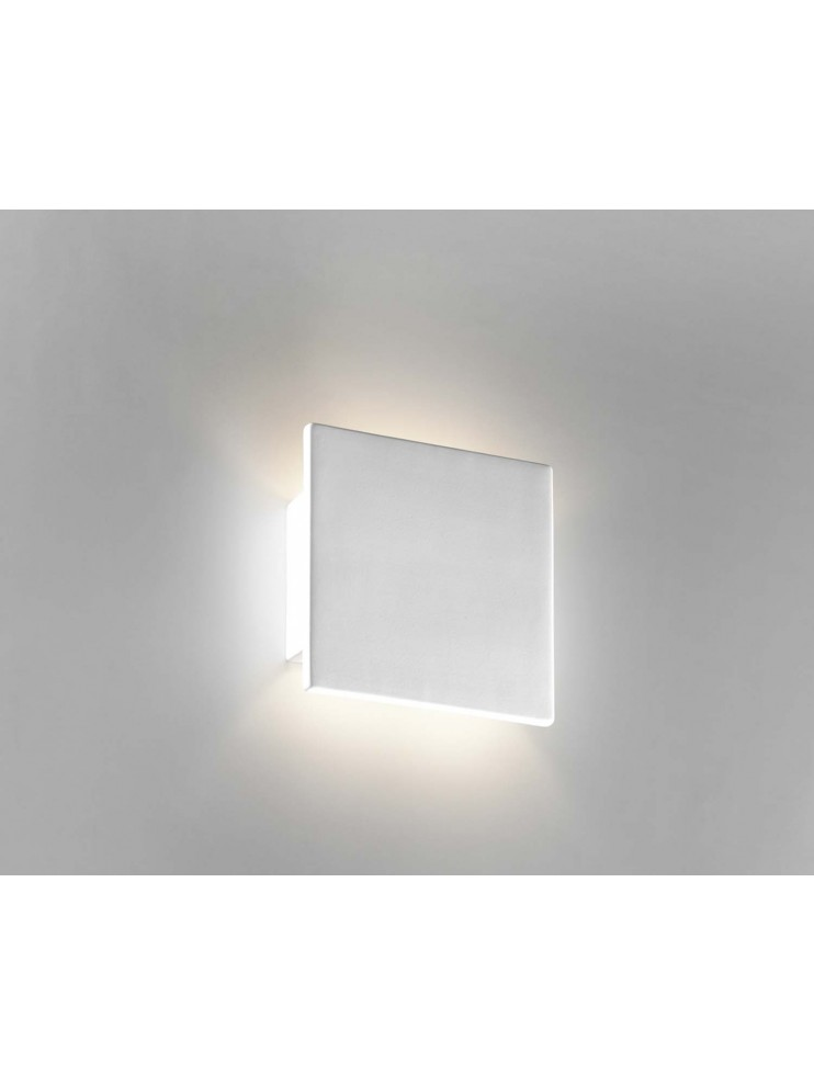 Modern wall lamp in white ceramic 1 light coll. 8672.108