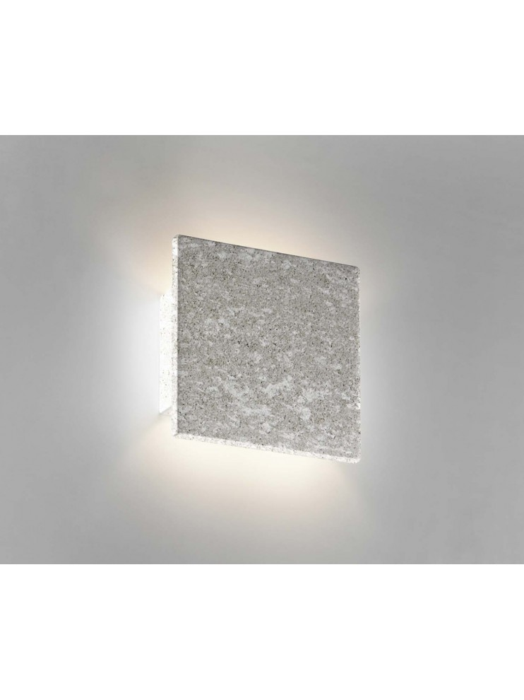 Applique in ceramica pietra grigia a 1 luce coll. 8672.381