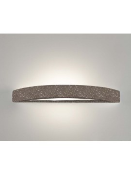 1 light brown ceramic stone wall light coll. 8042.380