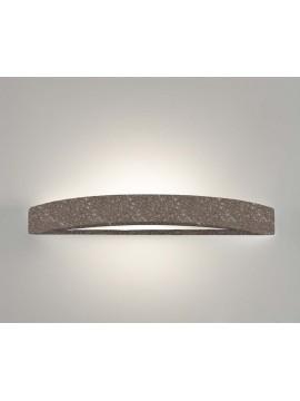 Applique in ceramica pietra marrone a 1 luce coll. 8042.380