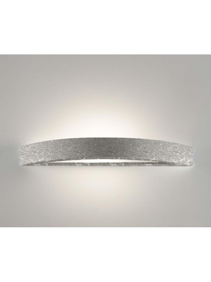Applique in ceramica pietra grigia a 1 luce coll. 8042.381