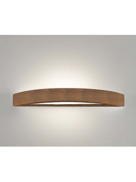 1 light corten ceramic wall light coll. 8042.390