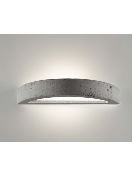 Applique moderno in cemento a 1 luce coll. 2455.005