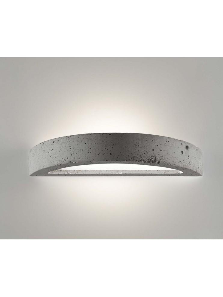 Applique moderno in cemento a 1 luce coll. 2455.005