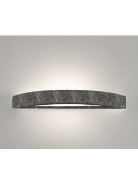 Applique in ceramica pietra nera a 1 luce coll. 8144.382
