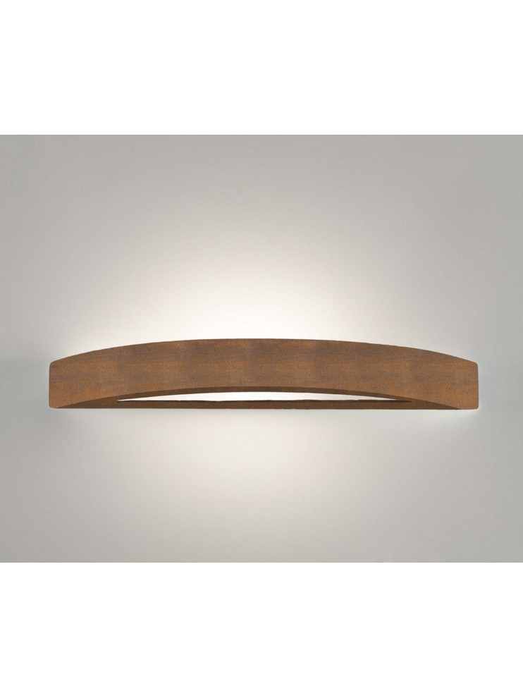 Ceramic wall light corten 1 light coll. 8144.390