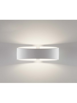 White modern led wall light coll.belfiore 2614B108