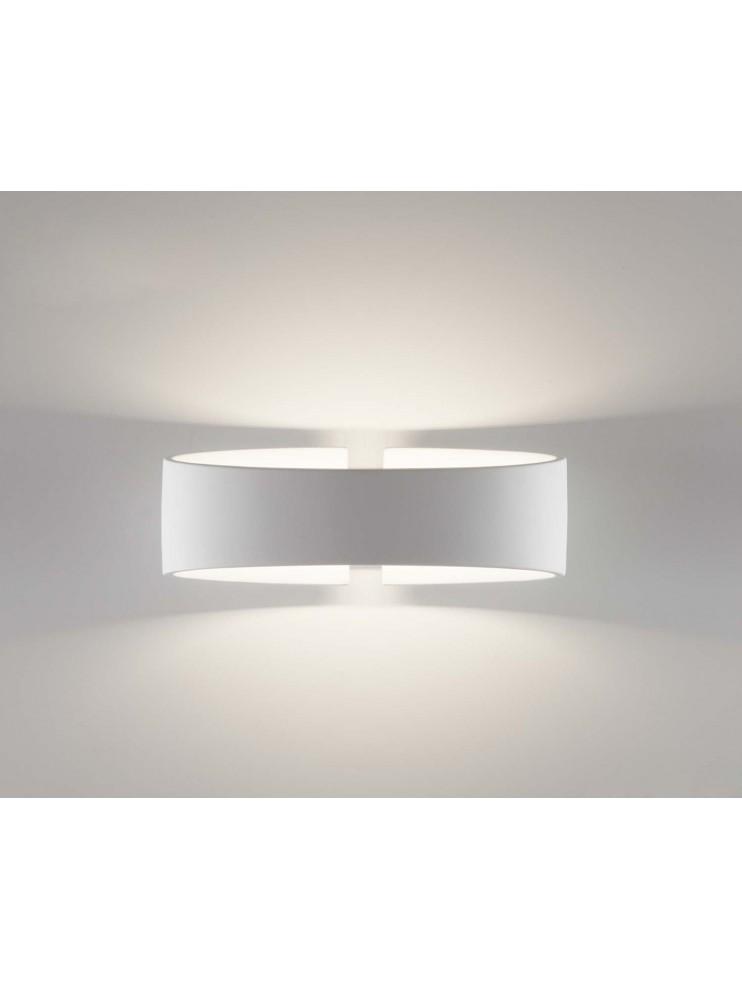 Applique a led moderno bianco coll.belfiore 2614A108
