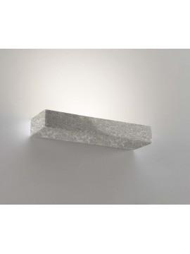 Applique in ceramica pietra grigia a 1 luce coll. 8429.381