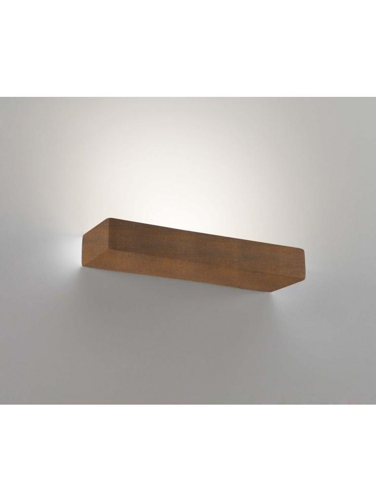 Applique in ceramica colore corten a 1 luce coll. 8429.390