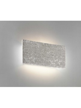 1 light gray ceramic stone wall light coll. 8673.381