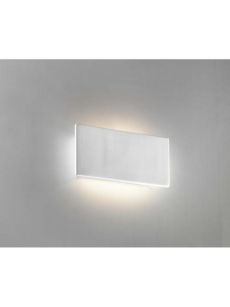 Applique moderno in ceramica bianco a 1 luce coll. 8673.108