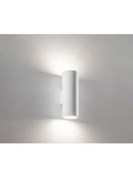 Modern ceramic wall light 2 lights coll. 2184.108