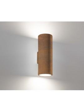 Applique moderno ceramica corten 2 luci coll. 2184.390