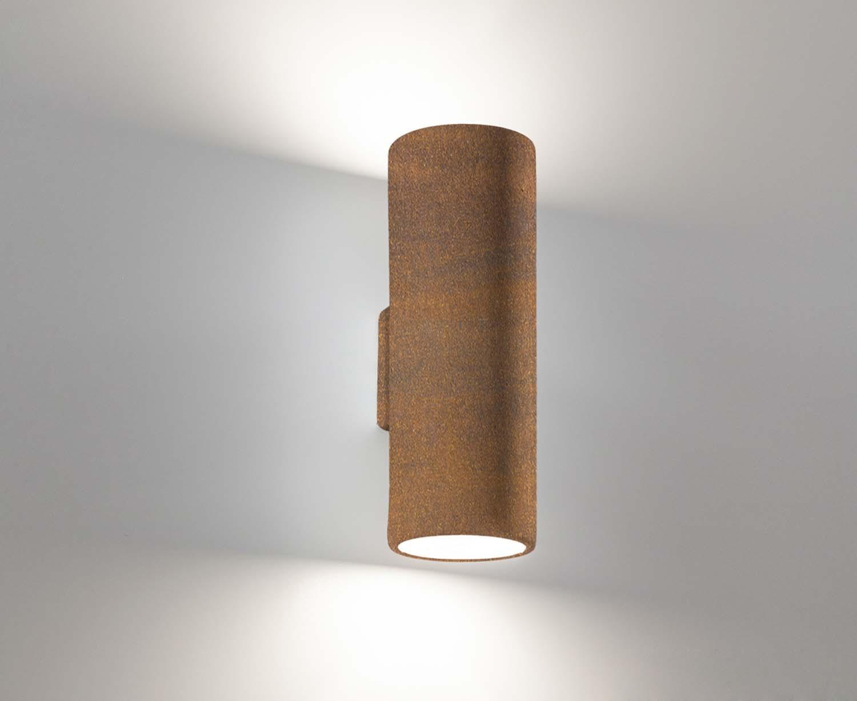 Corten ceramic modern wall light lights coll
