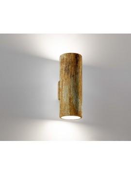 Applique moderno ceramica ossido 2 luci coll. 2184.391