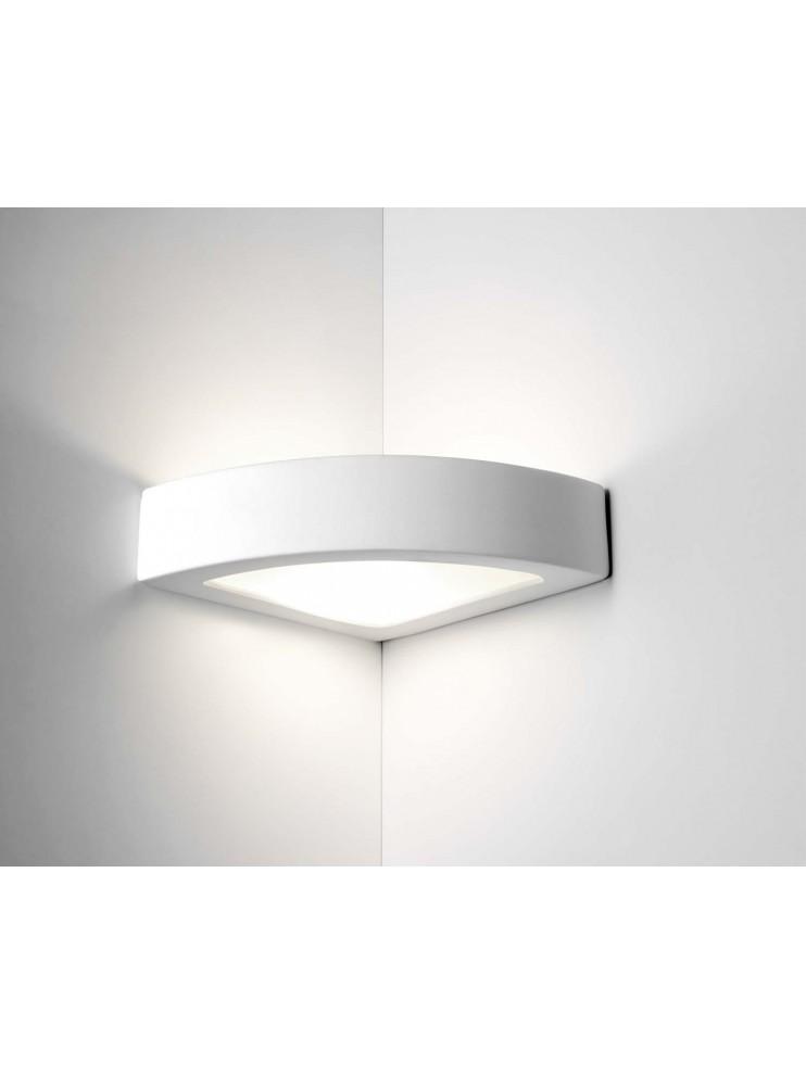 Applique angolare moderno 1 luce coll.belfiore 8056.108