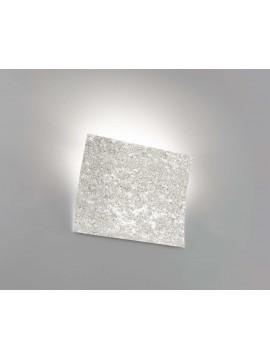 Applique moderno ceramica pietra marrone 1 luce coll. 2304.380
