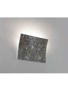 Applique moderno ceramica pietra nera 1 luce coll. 2304.382