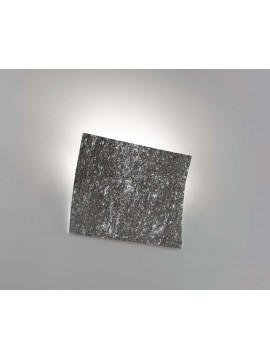 Modern black ceramic stone wall light 1 light coll. 2304.382