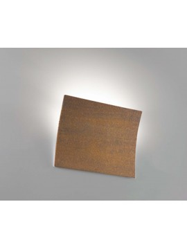Corten ceramic modern wall light 1 light coll. 2304.390