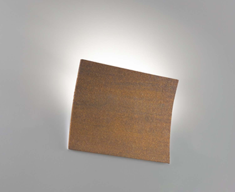 Applique moderno ceramica corten 1 luce coll. 2304.390