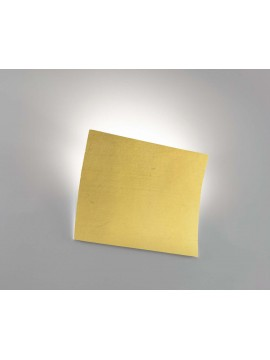 Wall lamp modern ceramic gold leaf 1 light coll. 2304.670