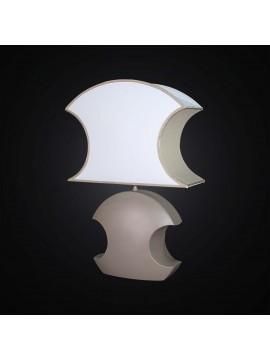 Lume grande moderno in ceramica tortora ovale 1 luce BGA 2872-LG