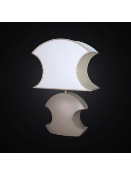 Modern large lamp in oval ceramic oval 1 light BGA 2872-LG