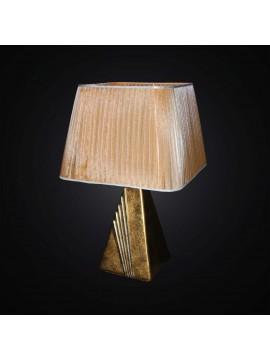 Lume grande classico in ceramica foglia oro 1 luce BGA 2885-LG