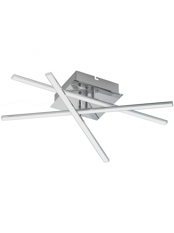 18w modern chrome plated rotating ceiling light GLO 95567 Lasana 1