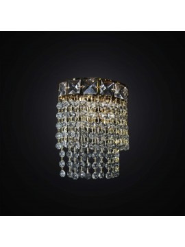 Classic crystal wall light 2 lights BGA 2810 / A swarovsky design