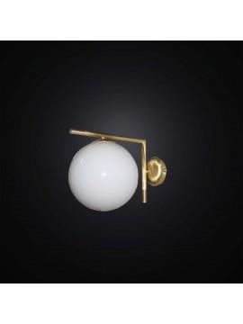 Applique design moderno con sfera 1 luce BGA 2826/A20