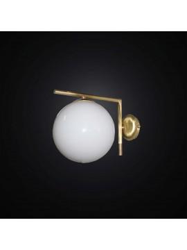 Applique design moderno con sfera 1 luce BGA 2826/A30